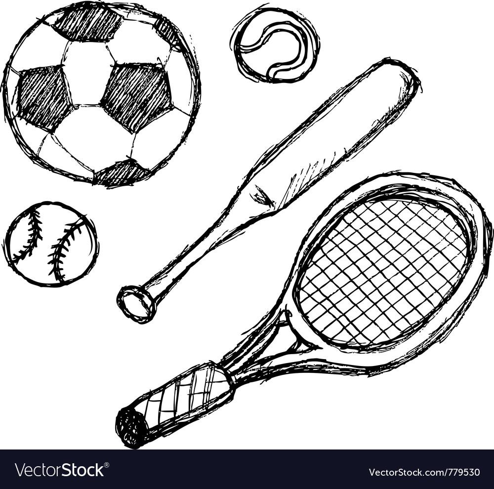 Scribble series - sports