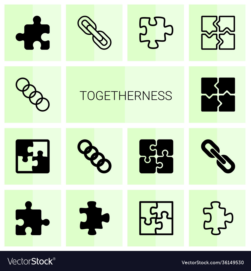 Togetherness icons