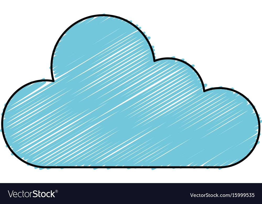 cloud computing server icon royalty free vector image