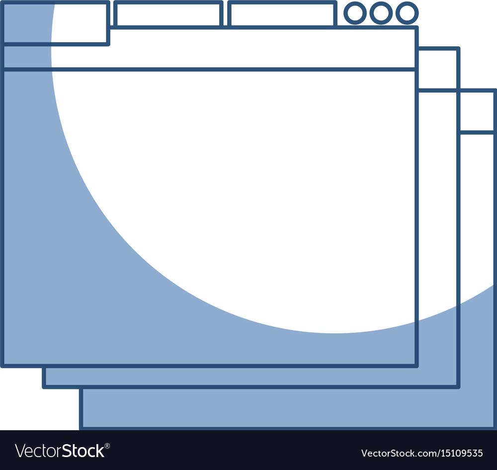 Shadow web window