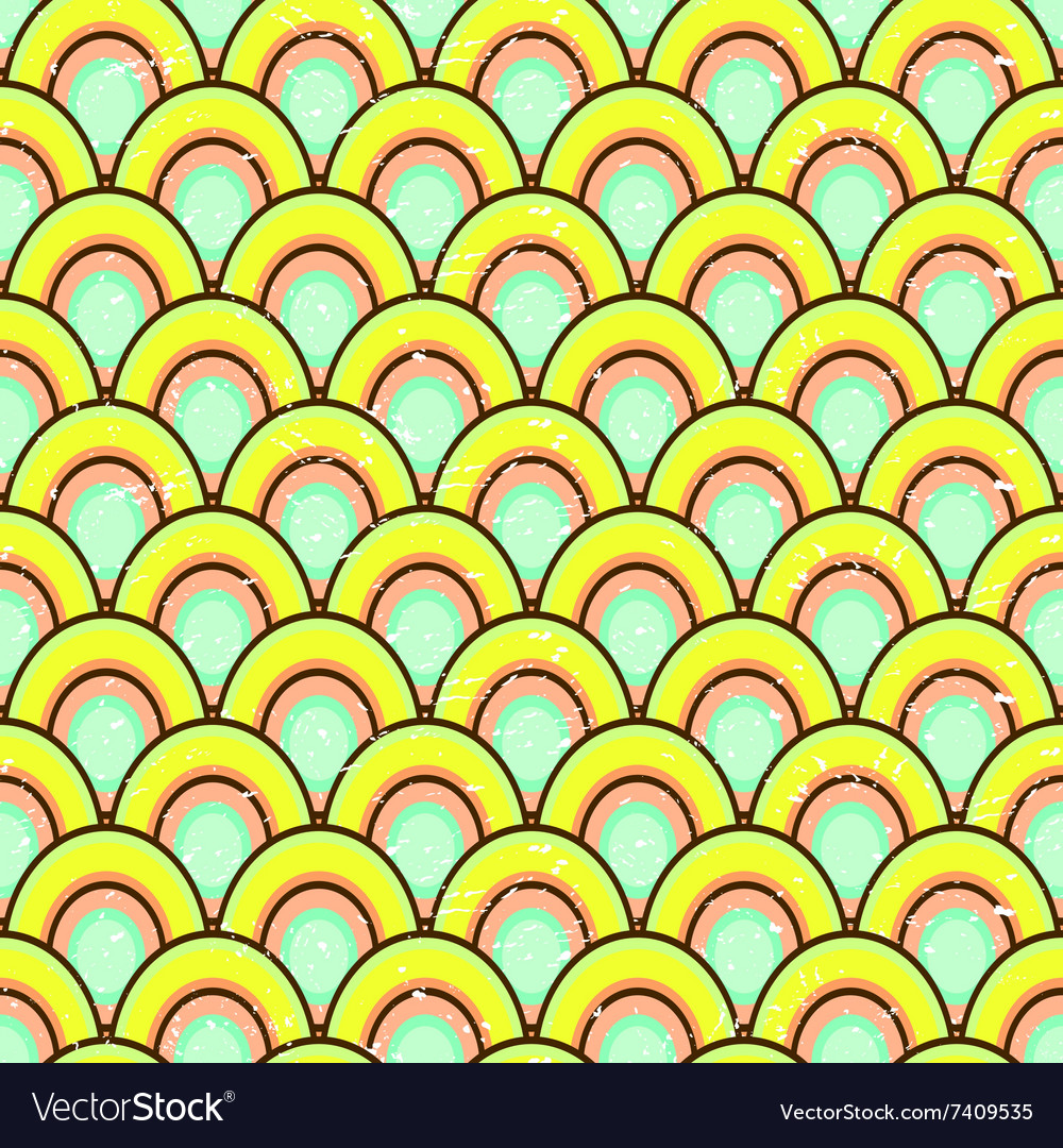 Simple geometric colorful pattern