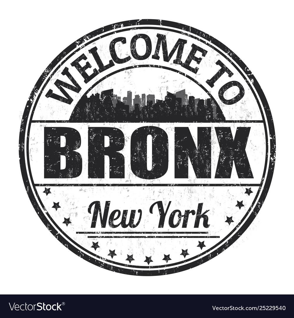 Bronx sign or stamp