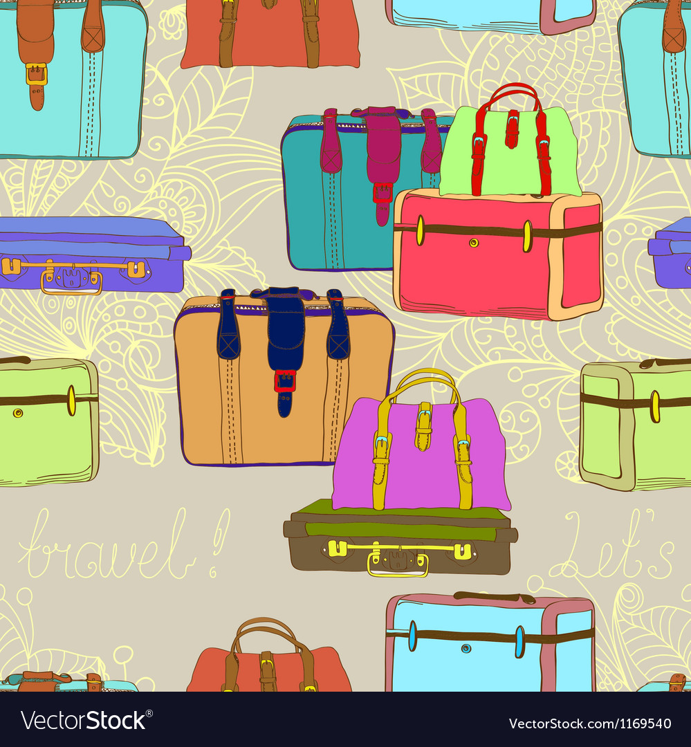 Seamless suitcases