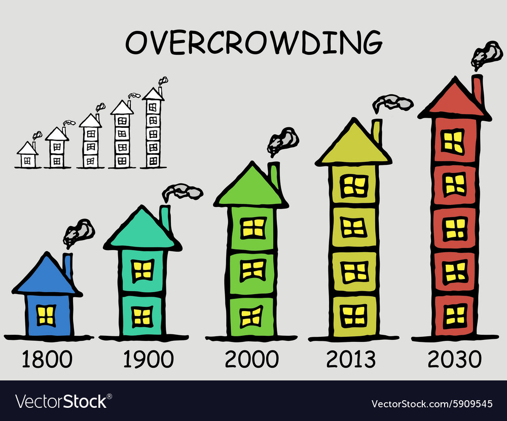 Overcrowded population vector