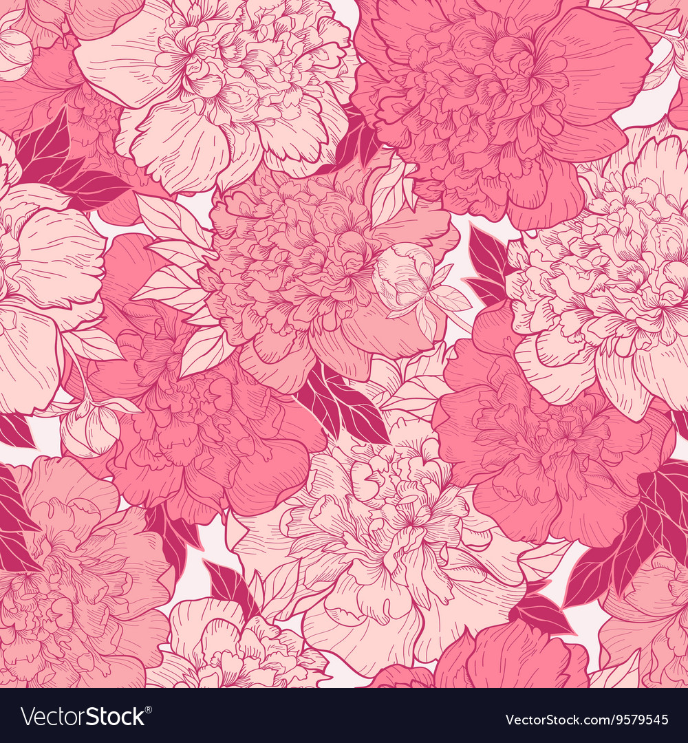 Seamless background with beautiful pattern vector image
