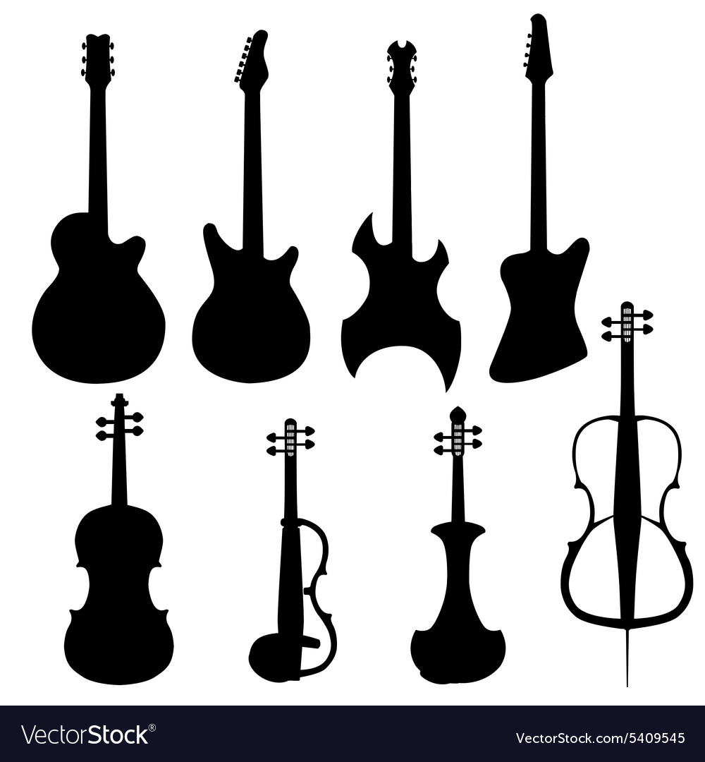 Set of string instruments