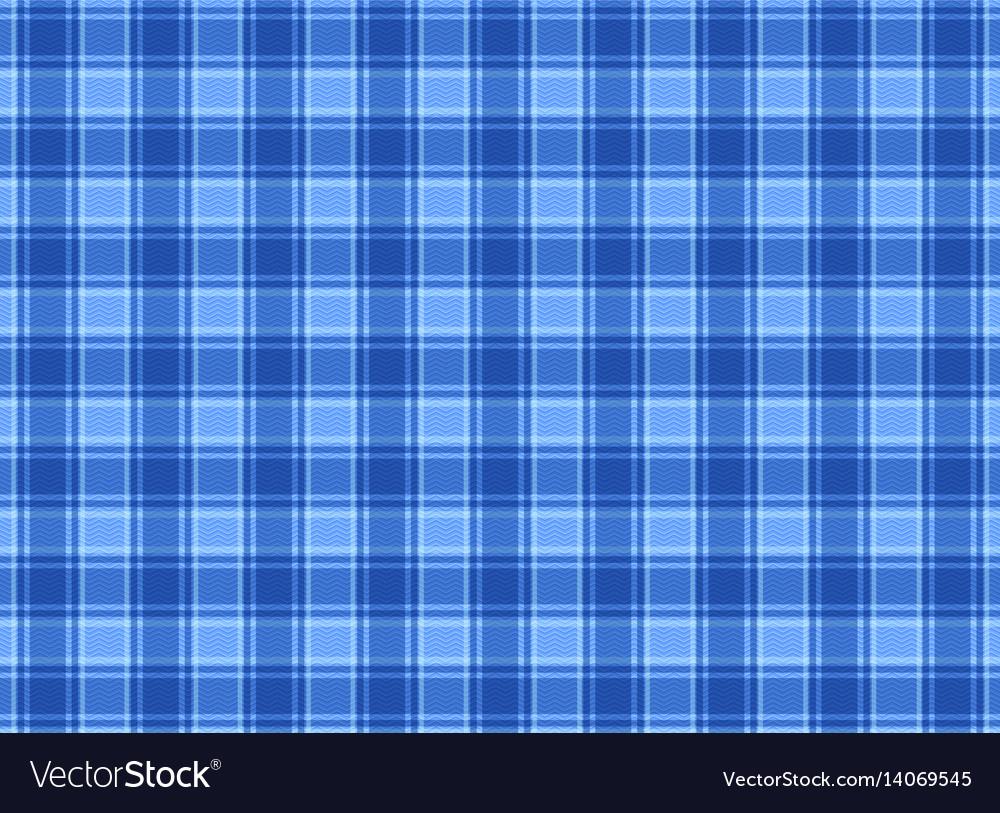 Tartan plaid blue
