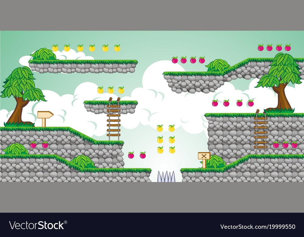 2d tileset platform game 23