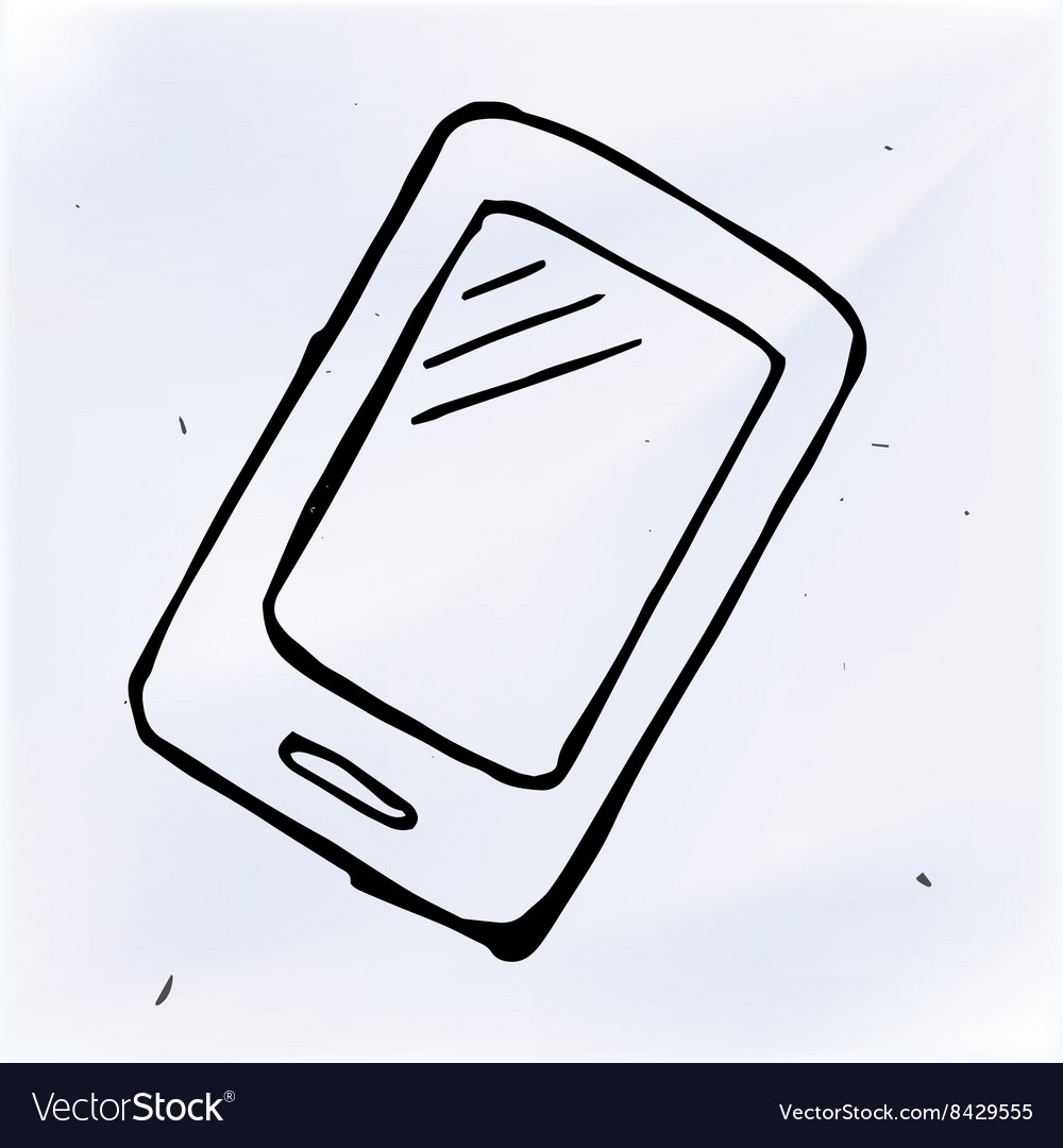 Doodle phone with touchscreen display