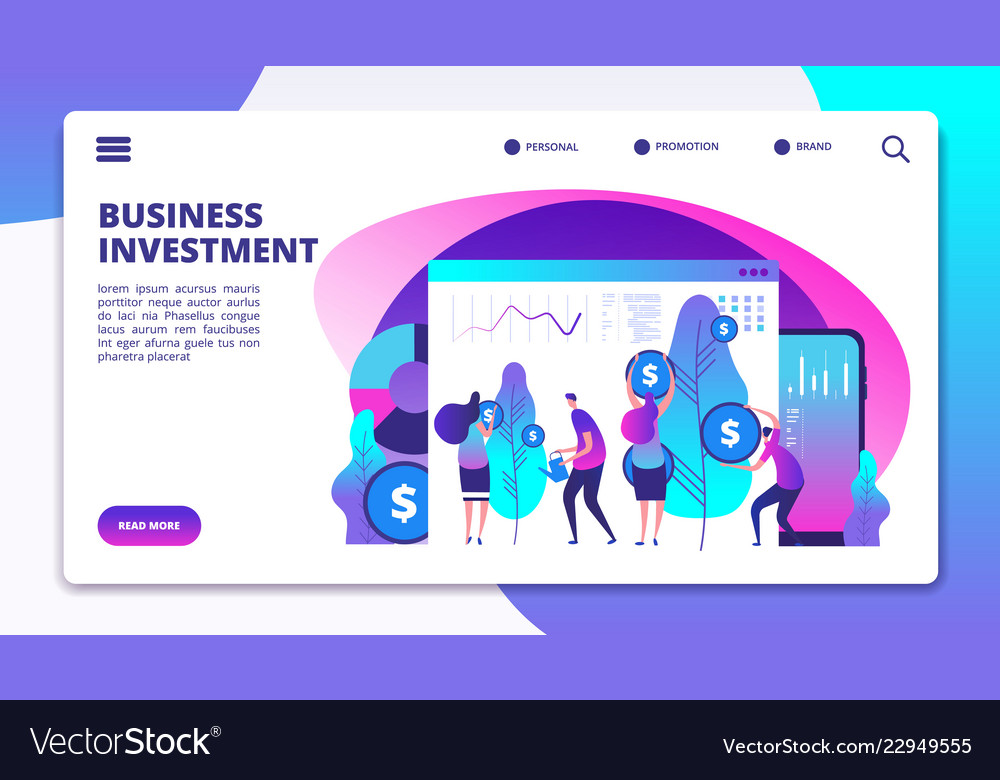 Investments landing page investment fund managers