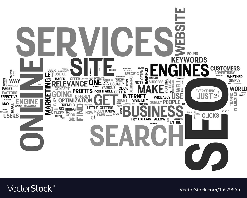 What seo services can do for your online business