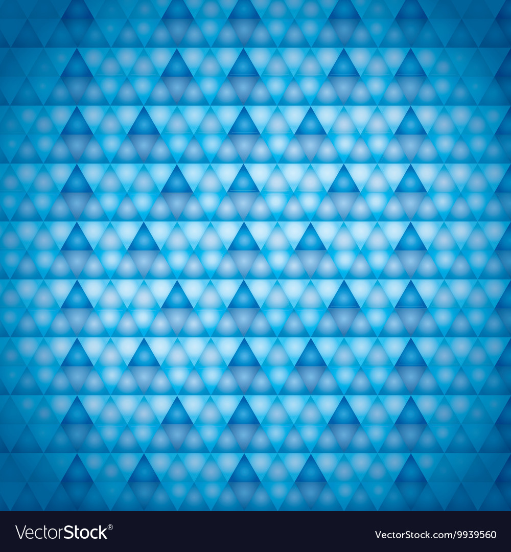 Background blue triangles