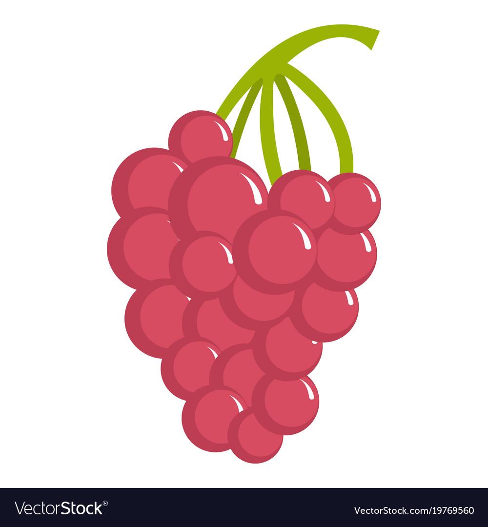 Grape icon cartoon style Royalty Free Vector Image
