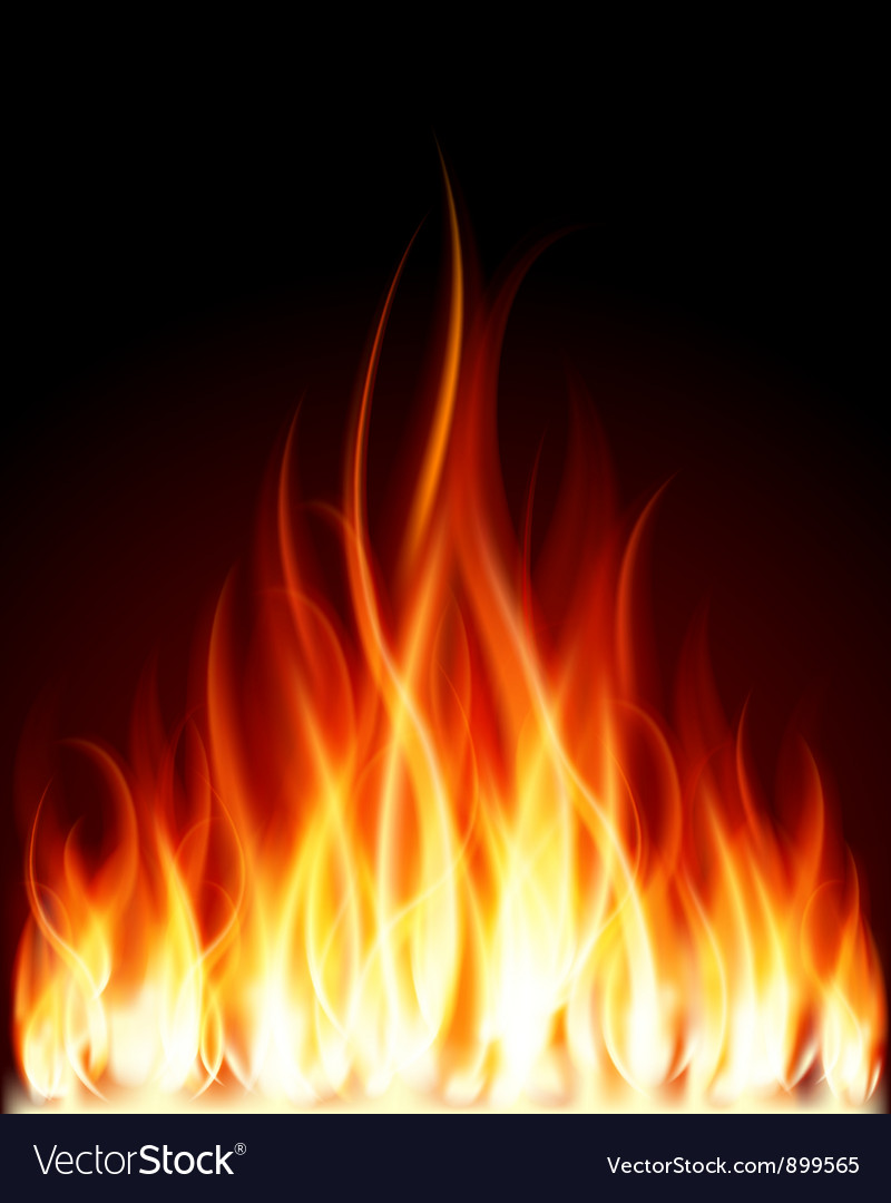 Burning flames background royalty free vector image burning flames background vector image voltagebd Images