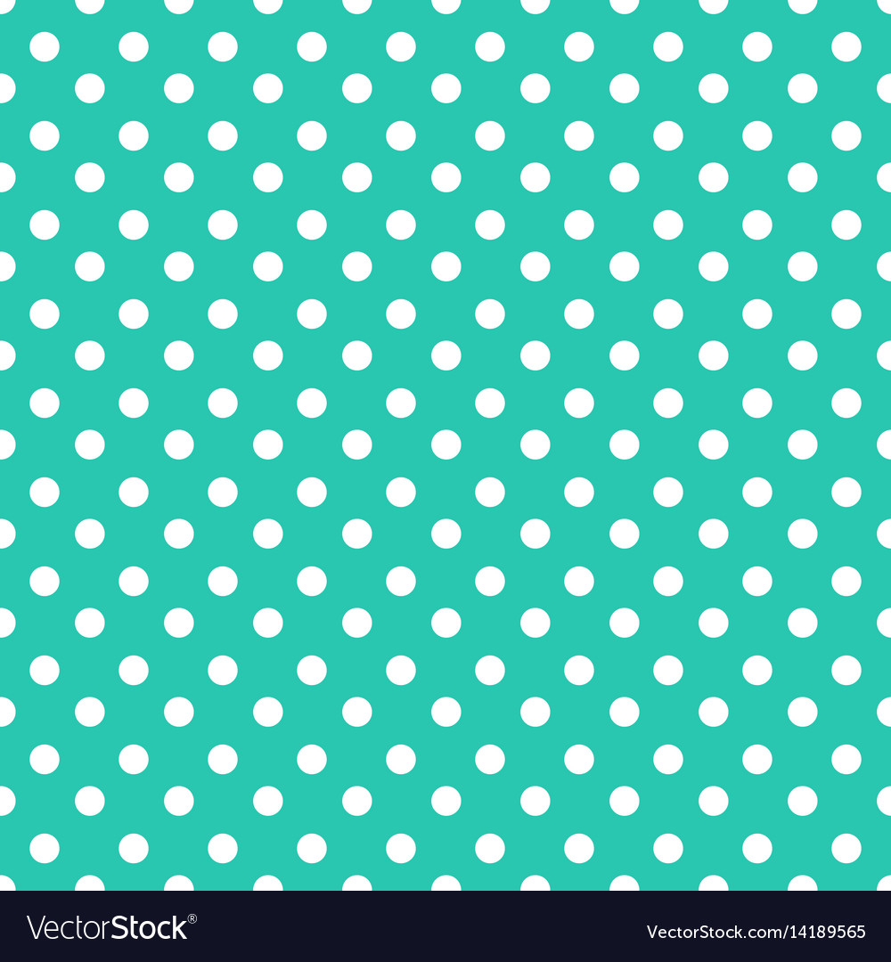 Seamless polka dot background made of blue watercolor circles.