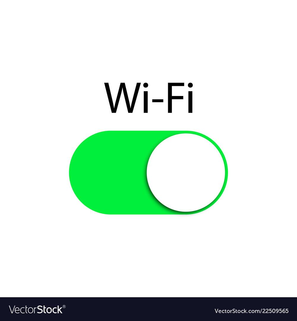 Wifi button wifi icon