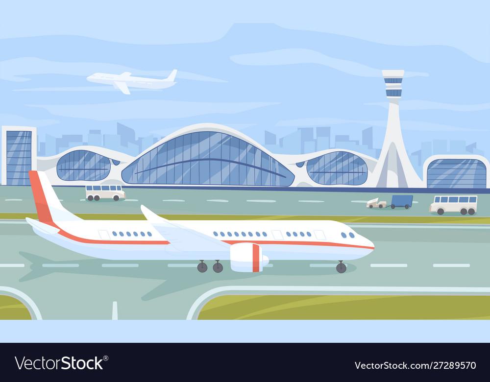 Airport terminal flat