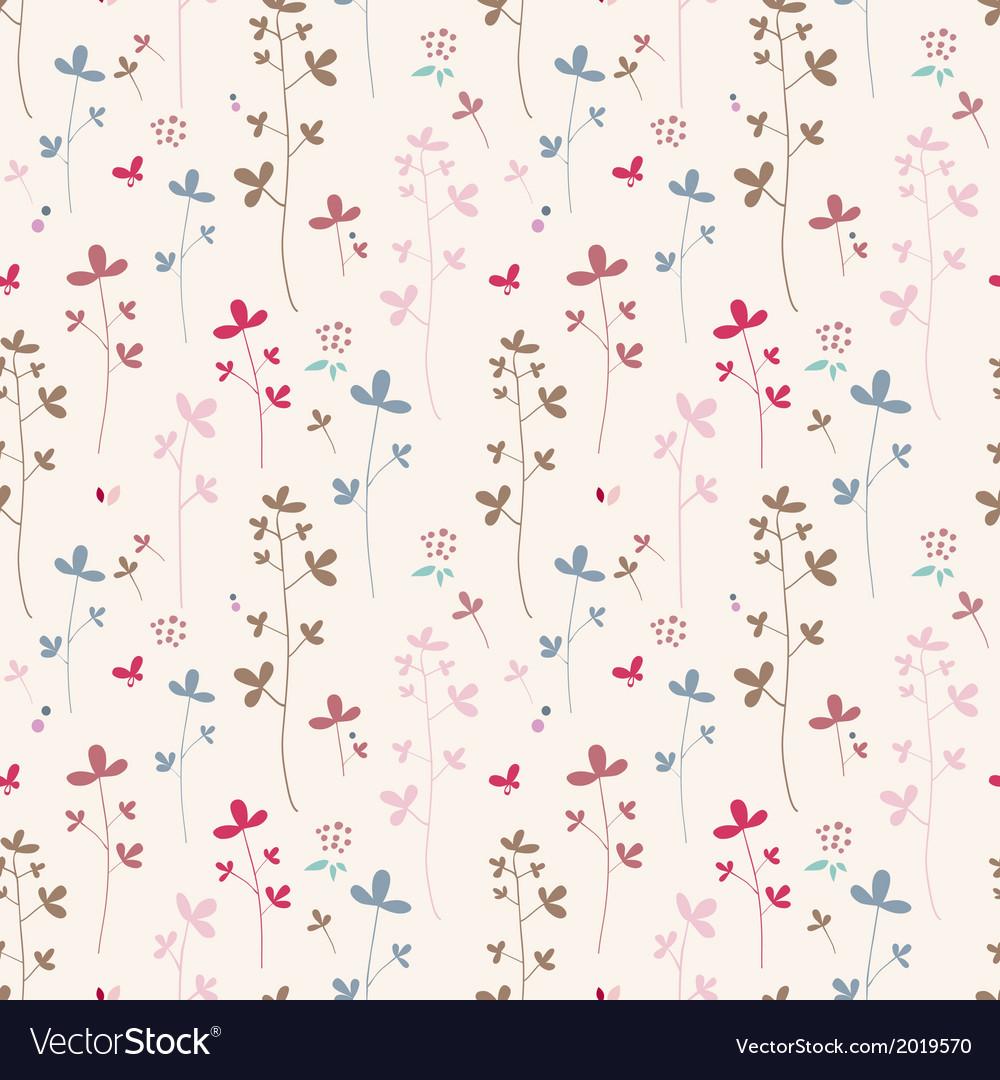 Summer flowers cotton