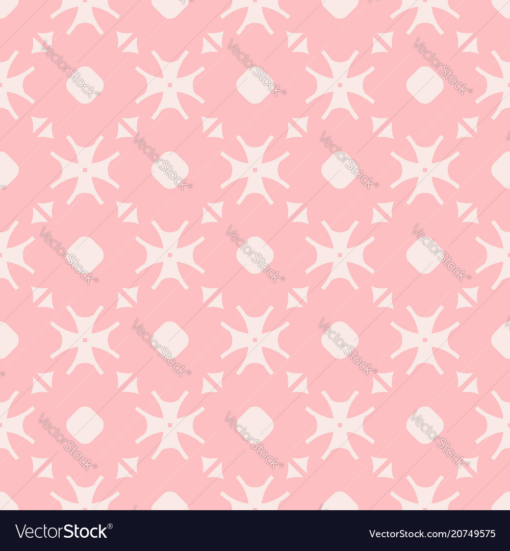 Elegant minimalist floral seamless pattern