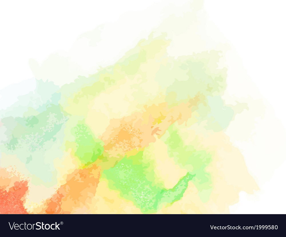 Abstract watercolor art EPS10 vector image