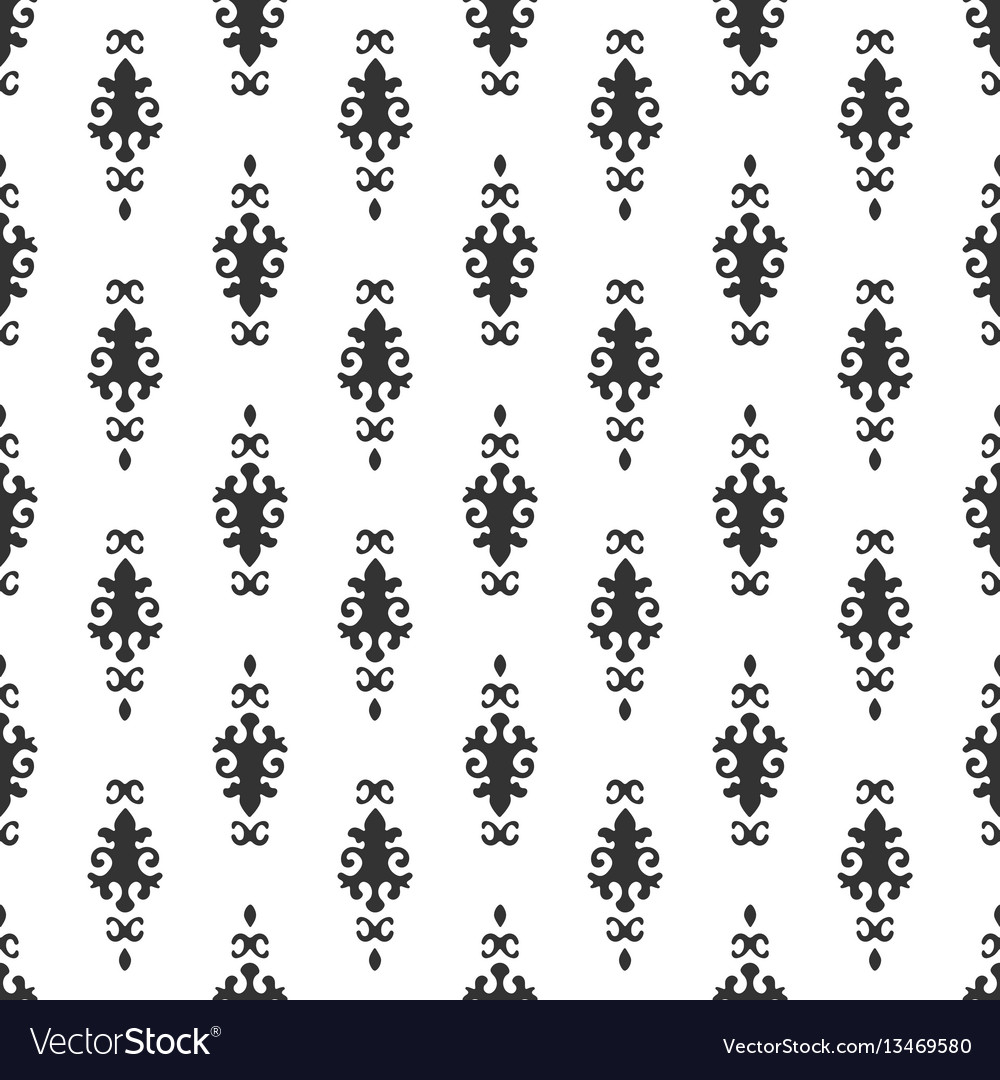 Black and white background beautiful queen vector image