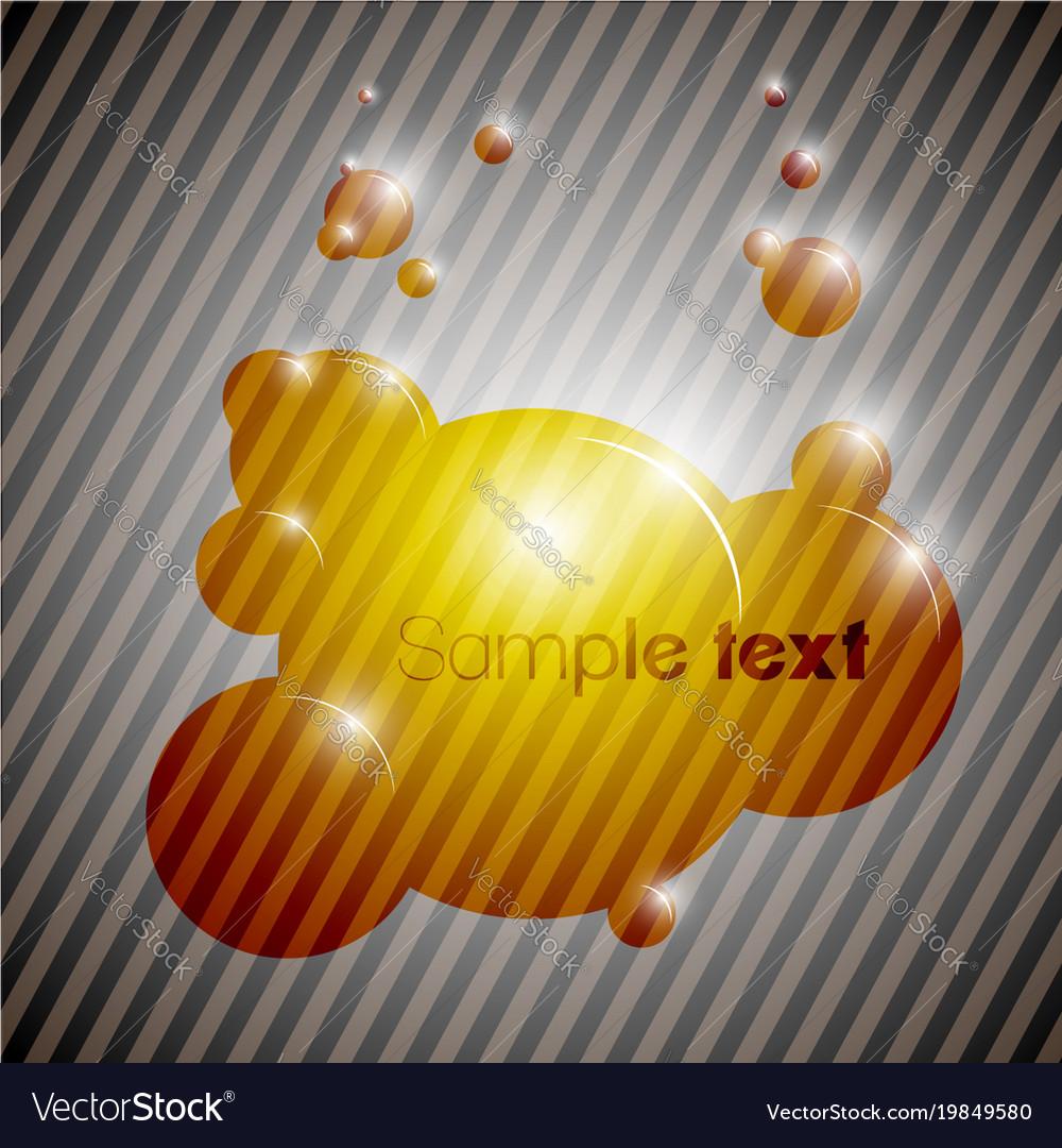 Colorful bubble background eps10