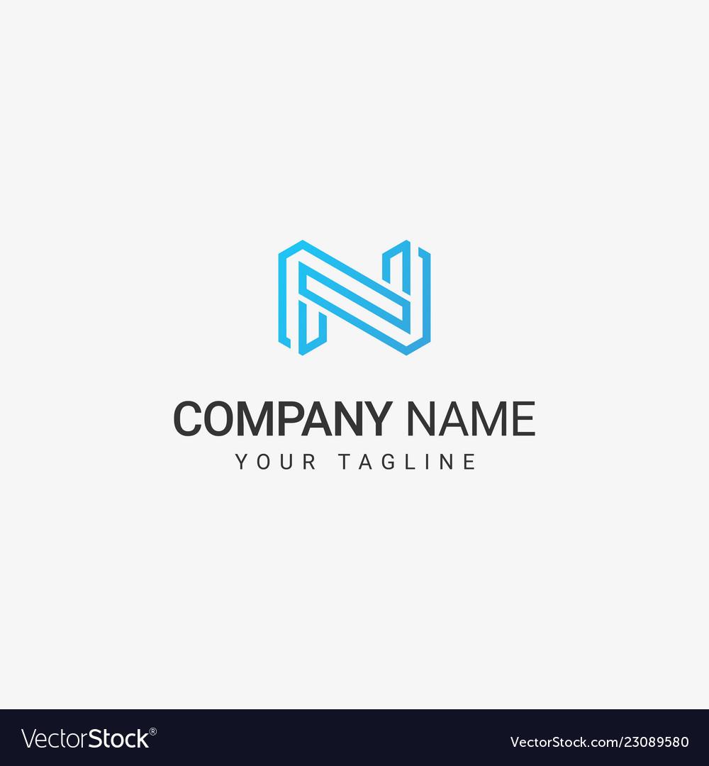 Line art n logo template