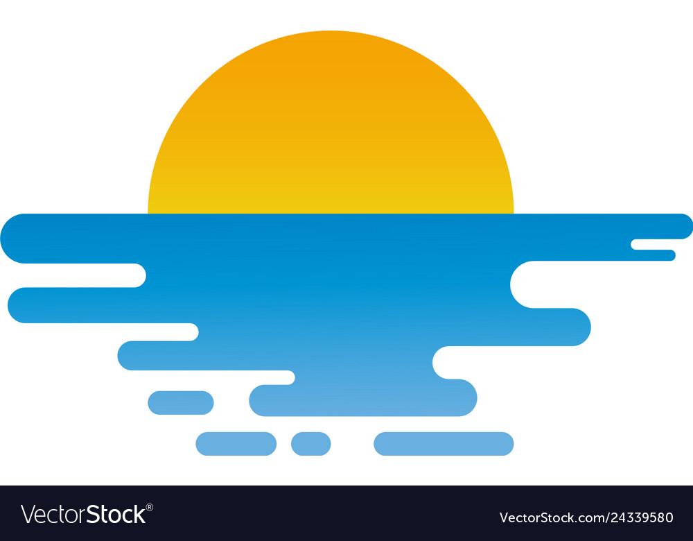 Sunset logo design inspiration