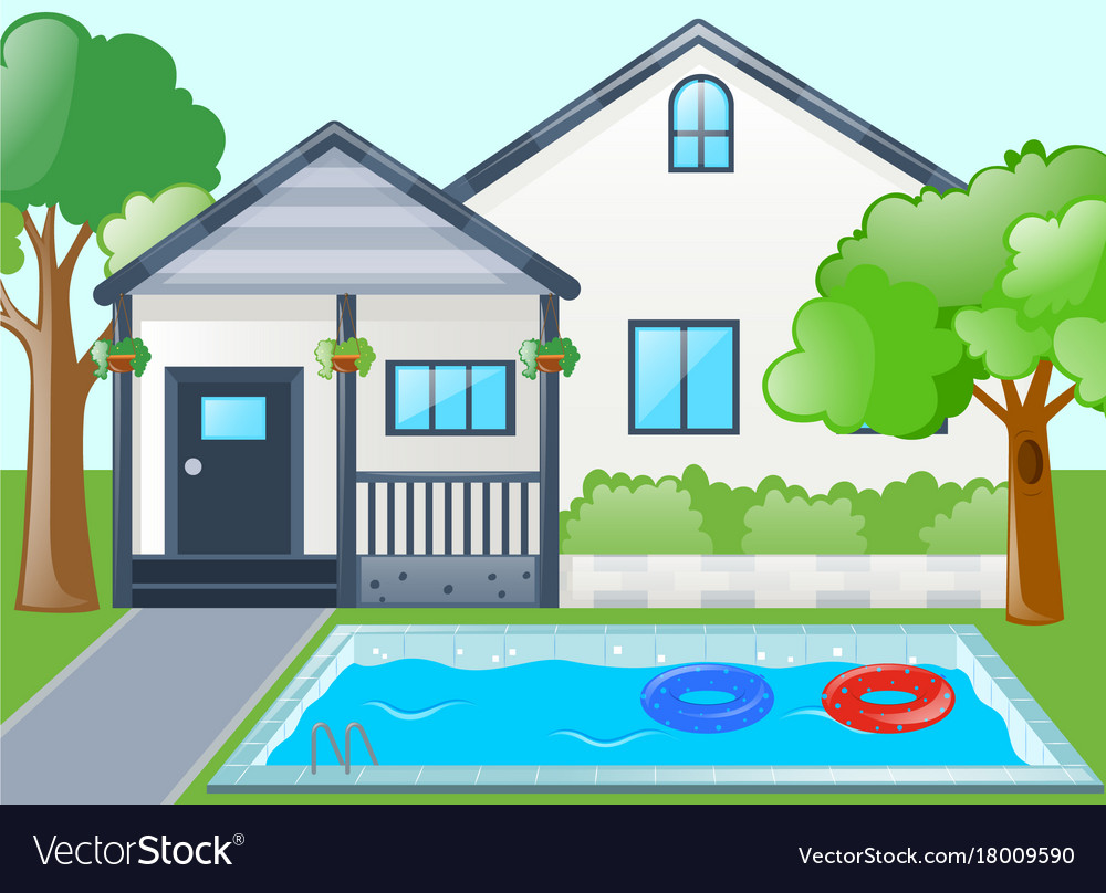 Swimming Pool Royalty Free Vector Image