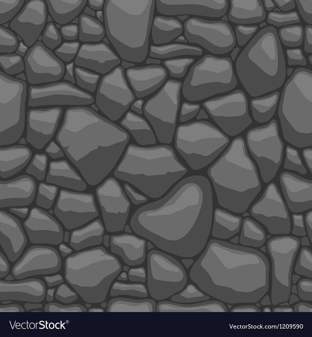 Stone seamless vector image