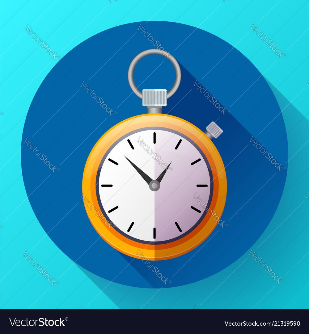 Stopwatch icon symbol race of