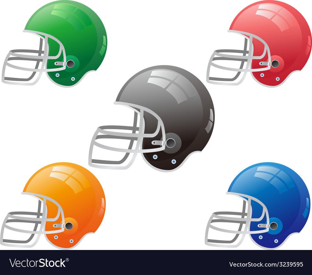 American football helmet