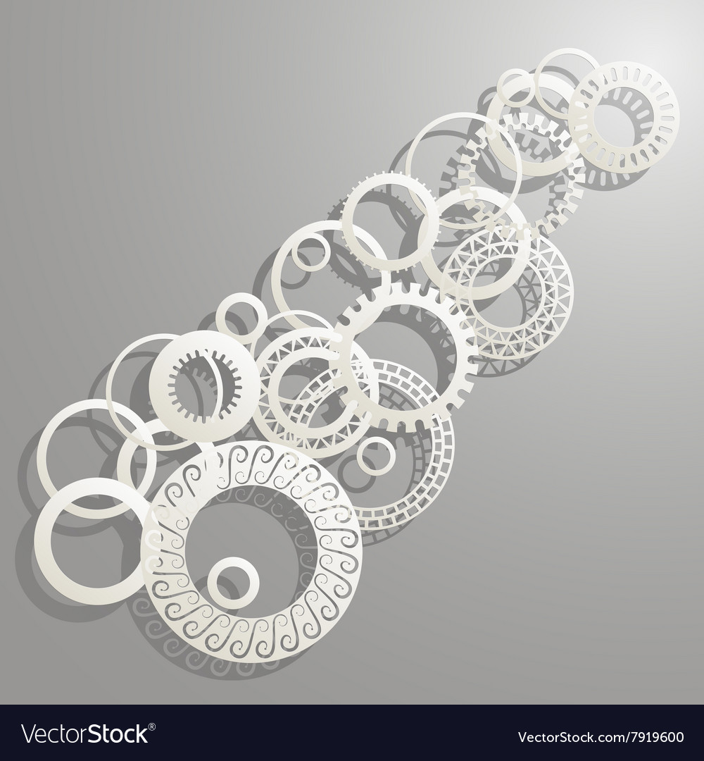 Background paper rings
