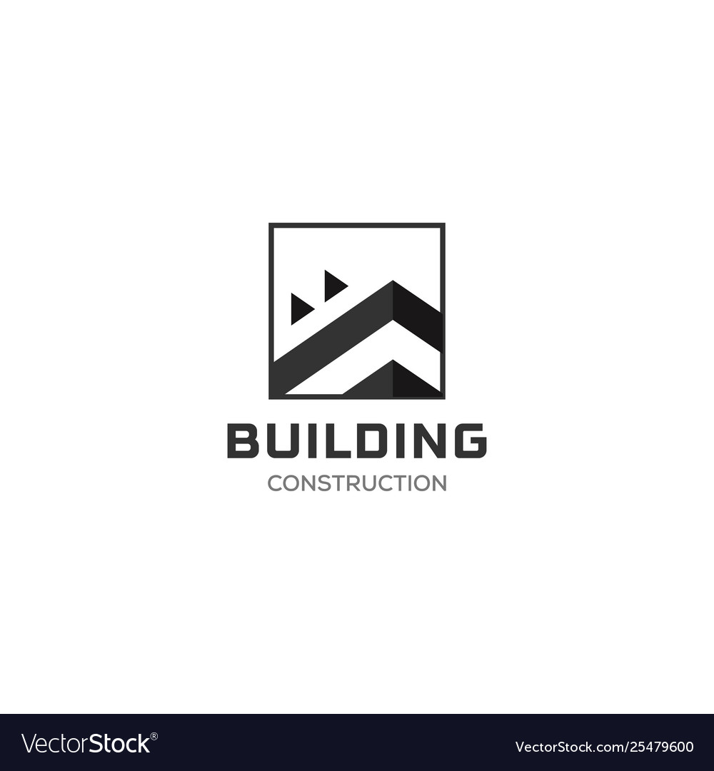 House abstract real estate countryside logo