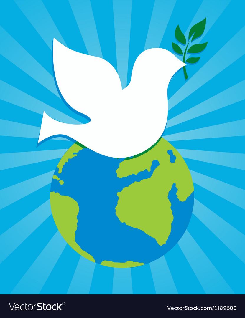 символ мира голубь и шар земной картинки даже сердце