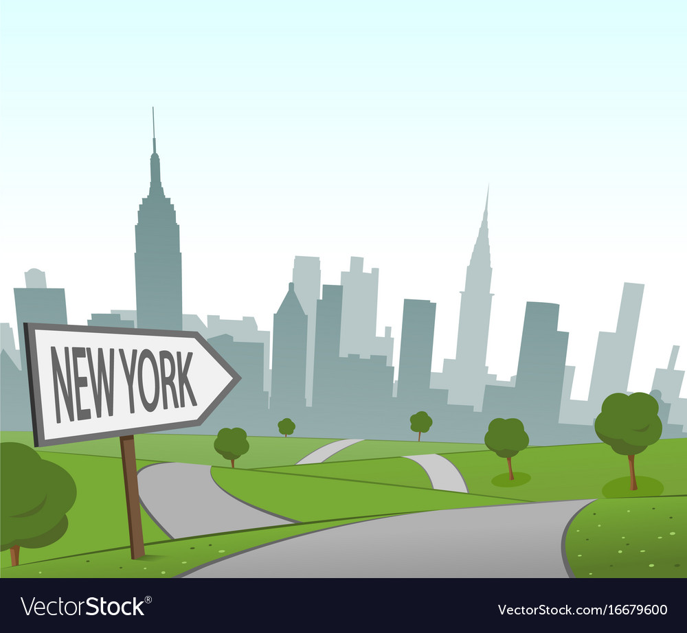 Road to new york