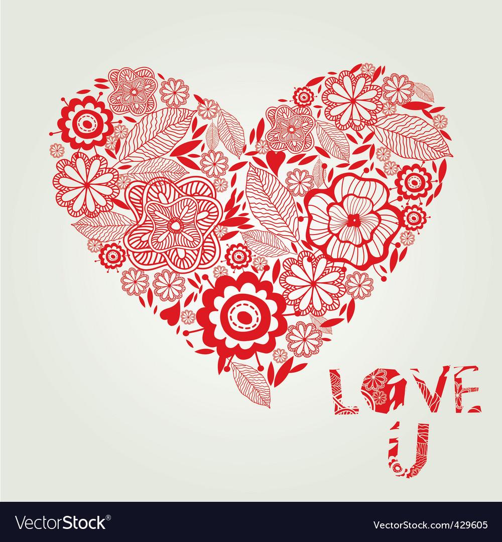 Hearts And Love Symbols. Love Heart Symbol Vector