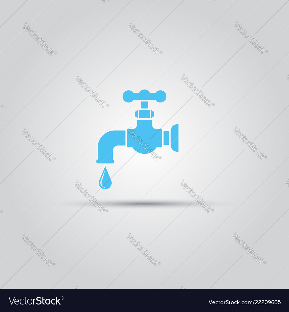 Tap isolated colored icon