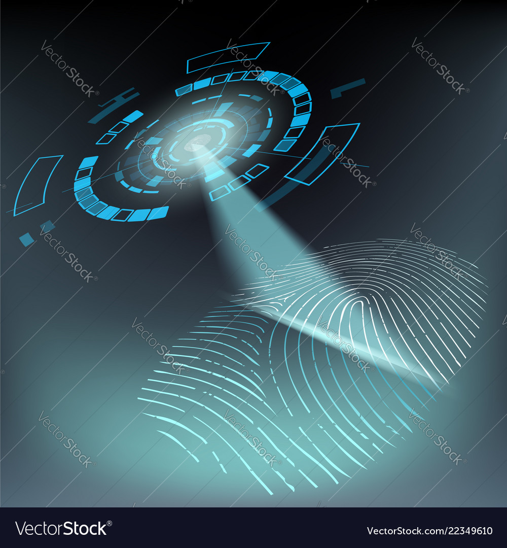 Scan fingerprint privacy and protection