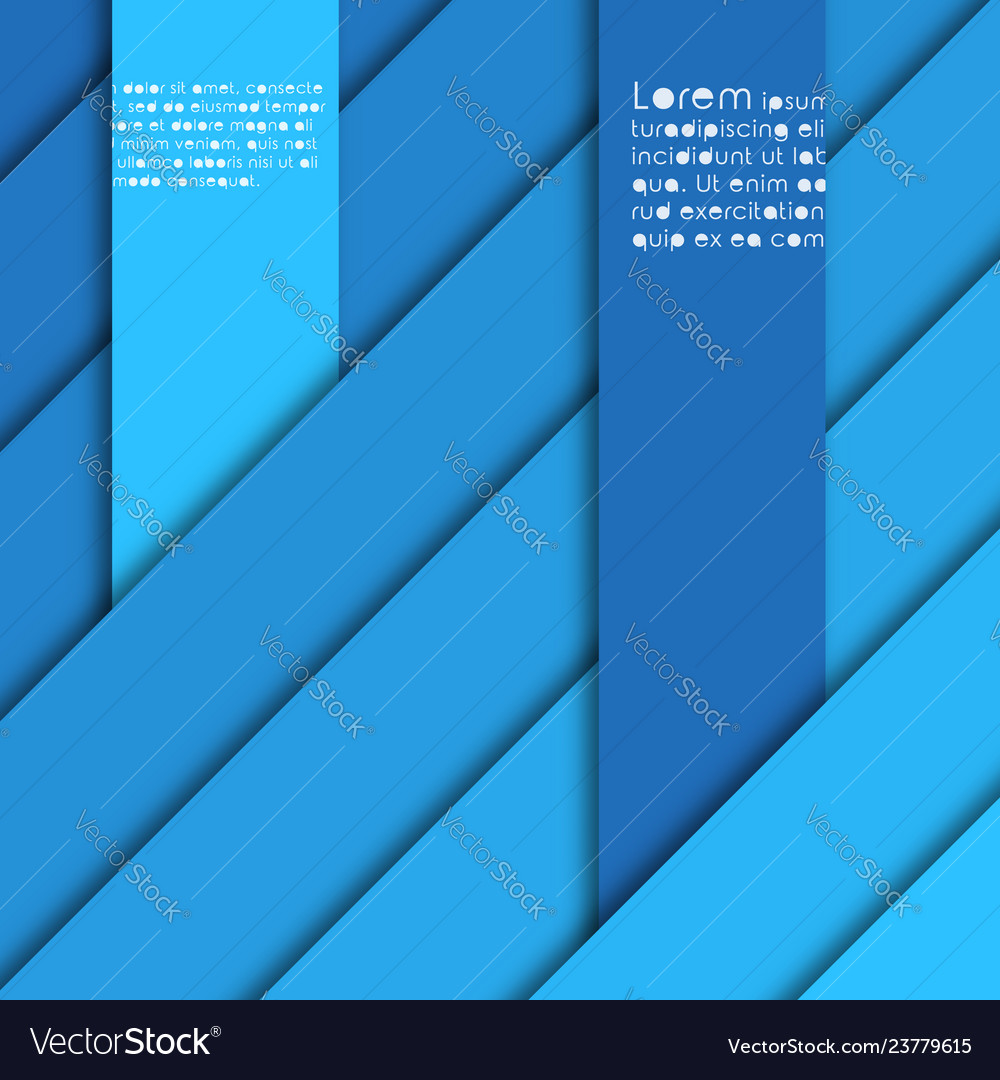 Abstract background with shades of blue stripes