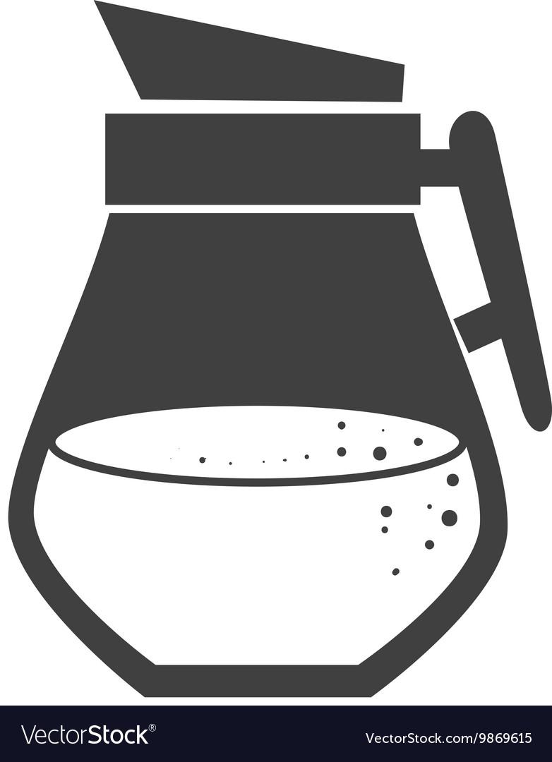 Drink flask jug vector image