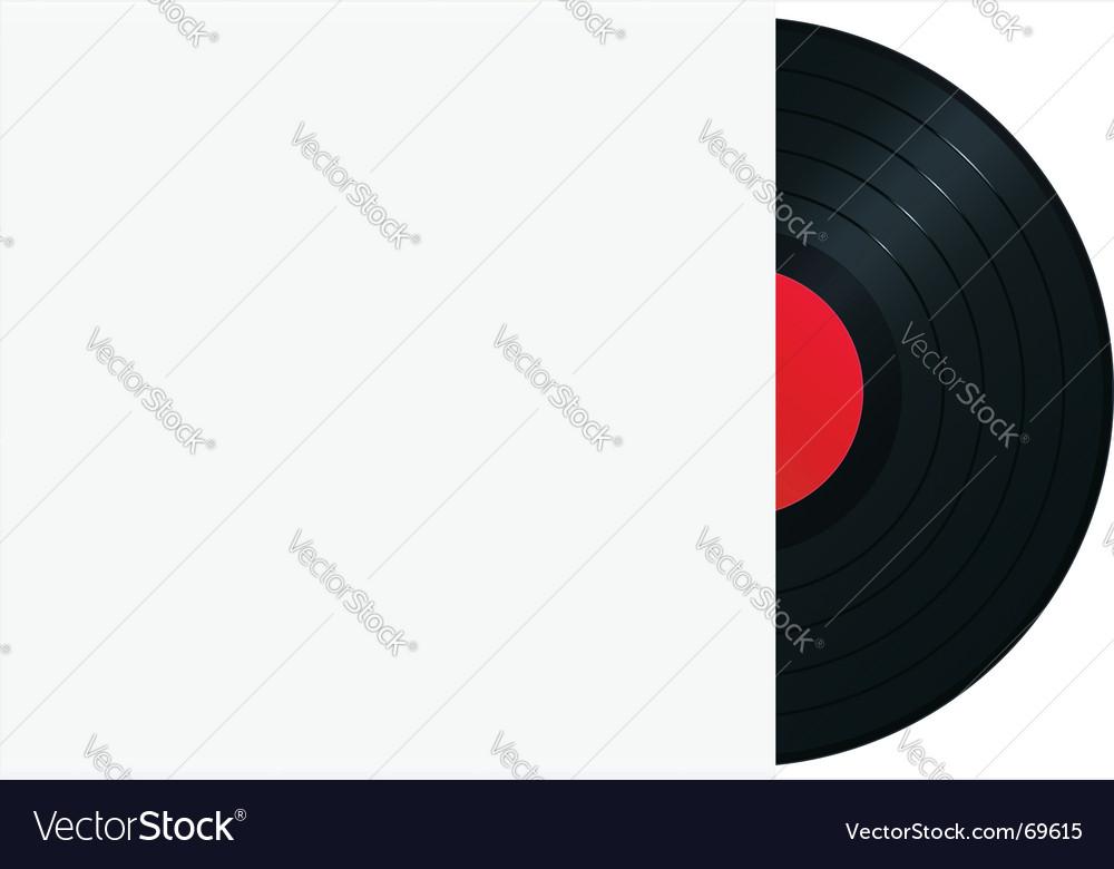 Vinyl record in sleeve