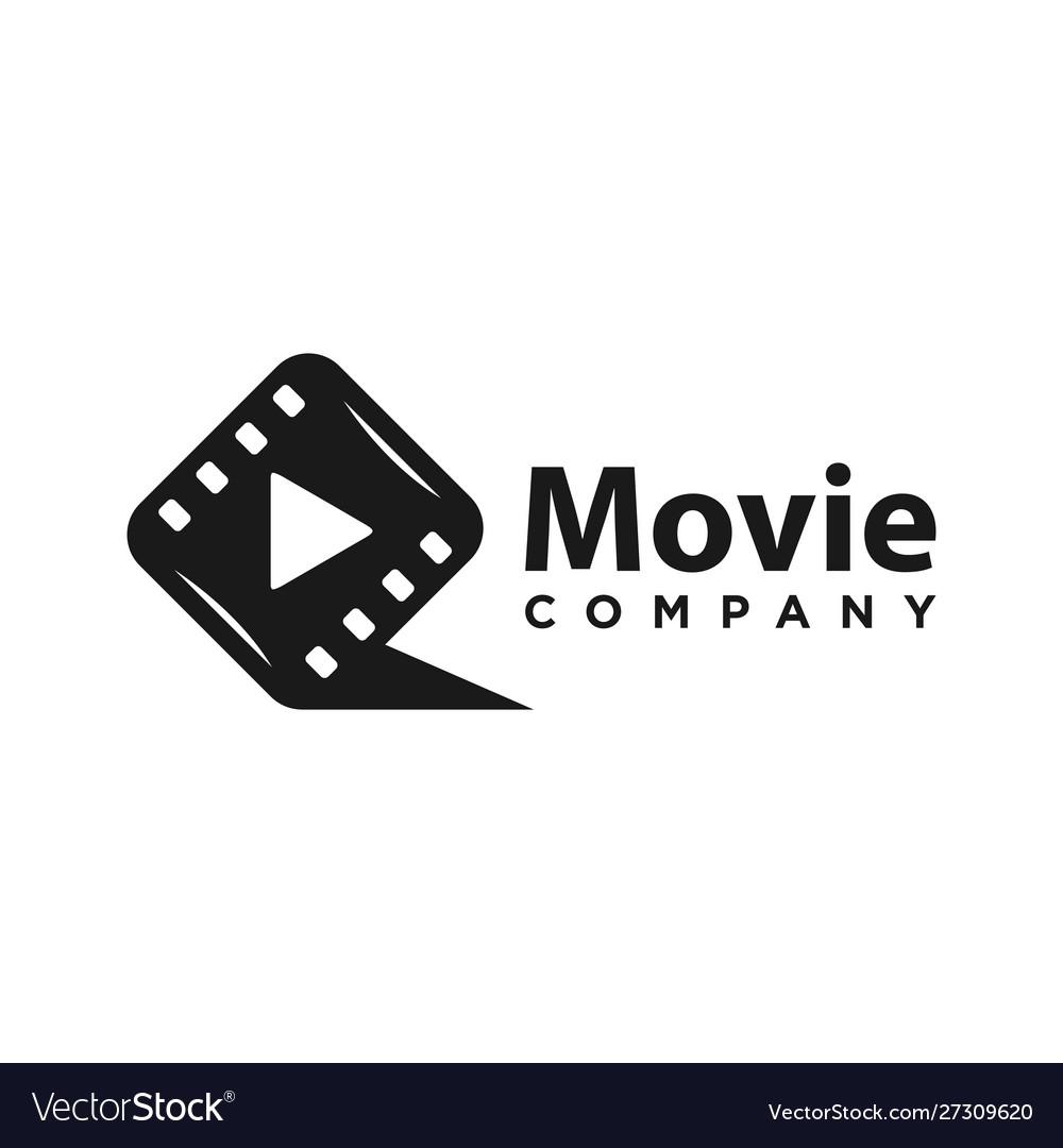 Initial film logo design q