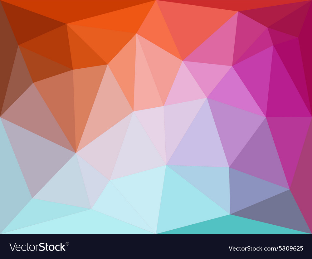 Polygonal geometric abstract background in