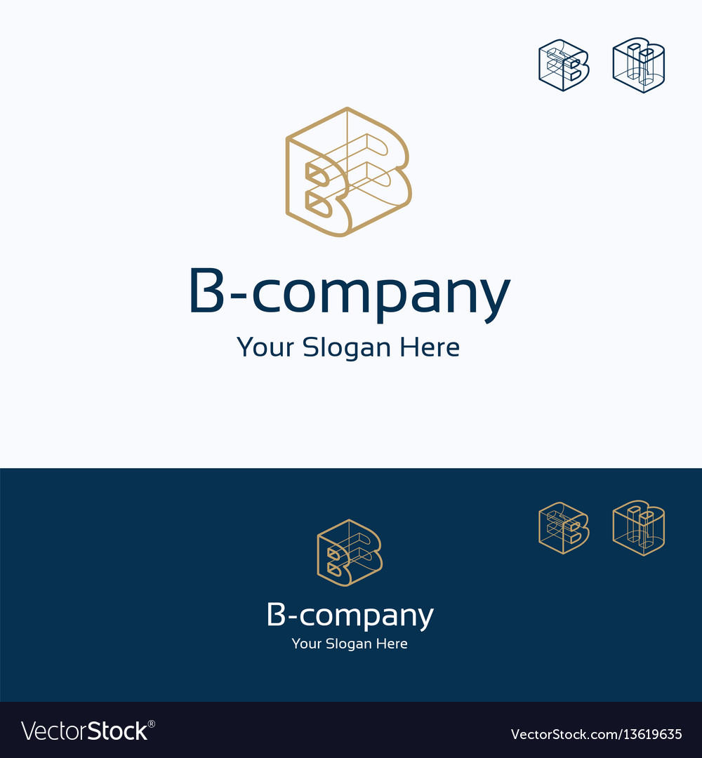 B company logo