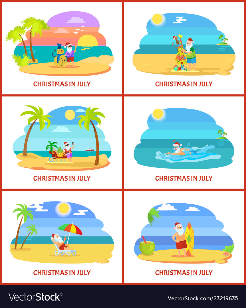 Christmas In July Clipart Free.Christmas In July Image On Beach