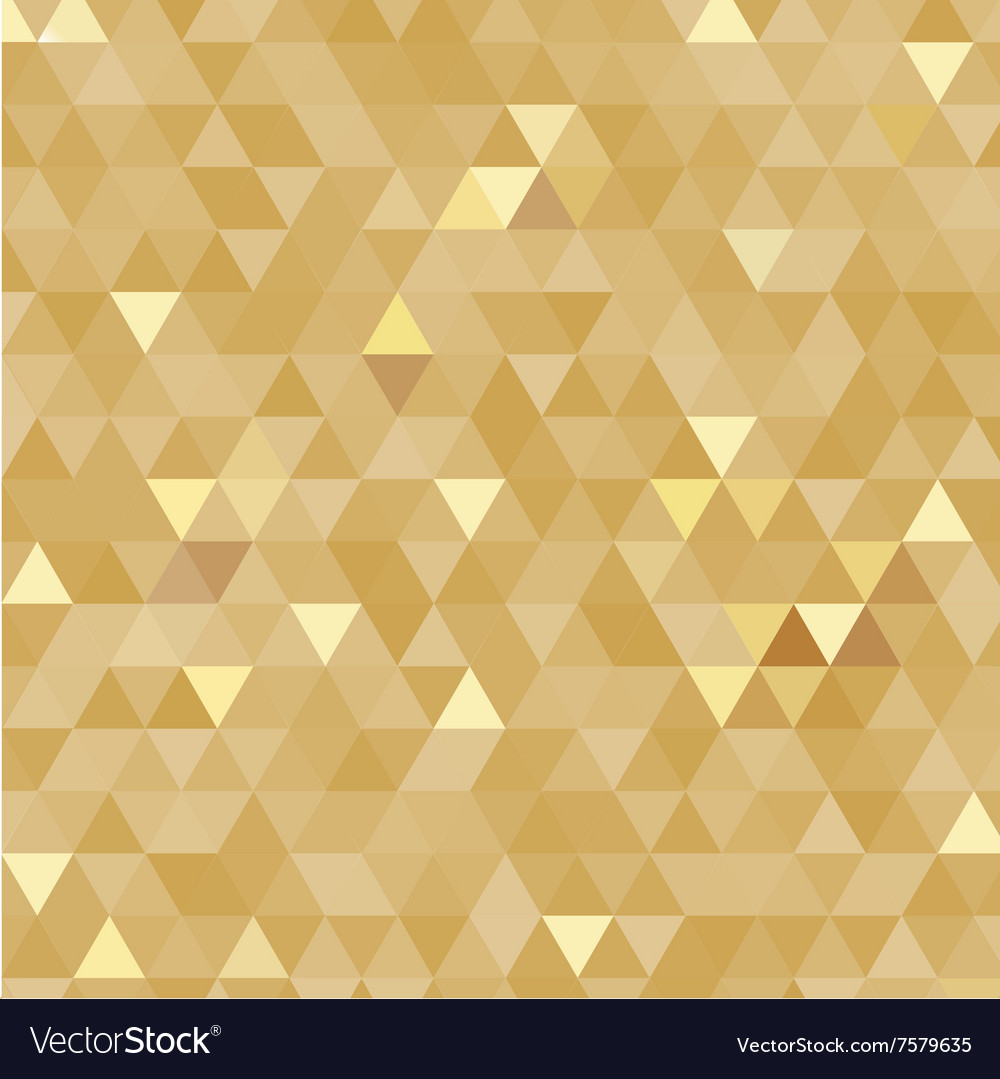Golden triangles background