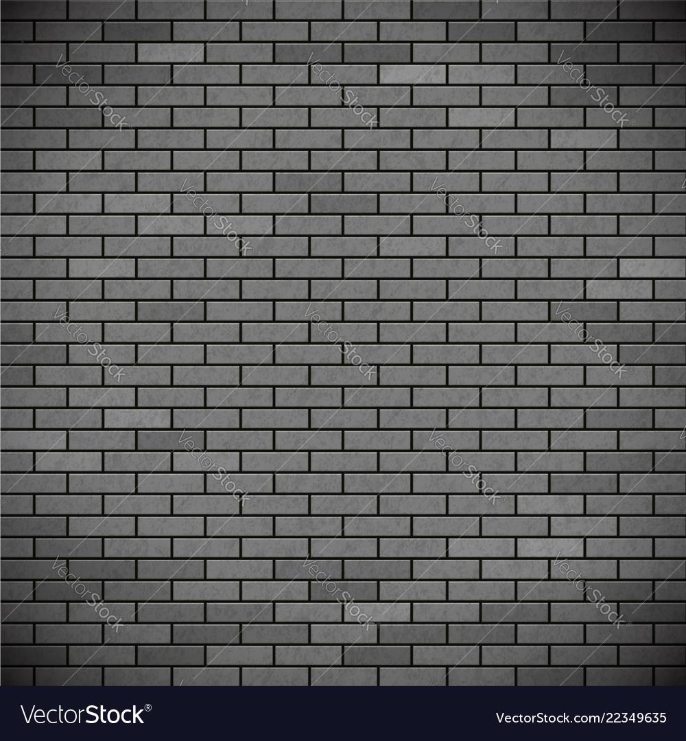Grey brick wall industrial construction