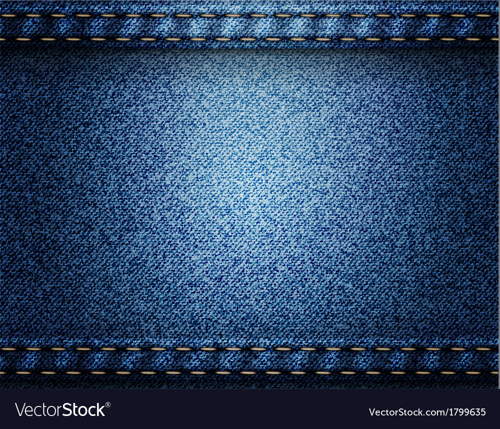 jeans background design vector image