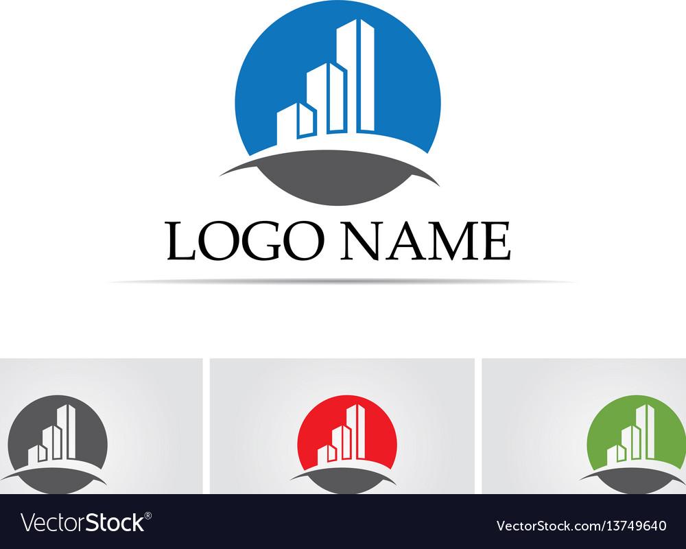 Business finance logo - concept